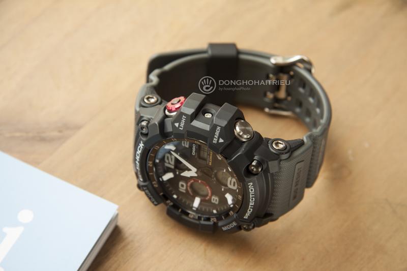 Mạnh mẽ nổi bật với mẫu G-Shock GSG-100-1A8DR thích hợp cho bạn trẻ yêu thích vẻ ngoài năng động