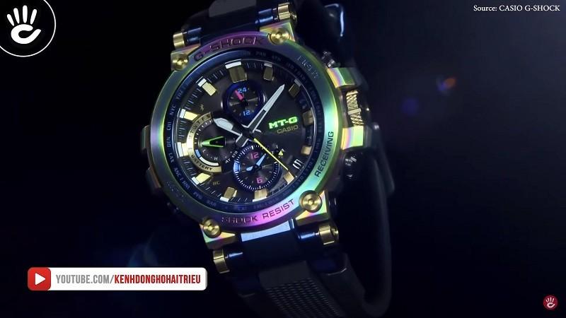 Ra mắt tạiBaselworld 2019,Casio G-Shock Lunar Rainbow đã ấn tượng lớn cho khách tham quan