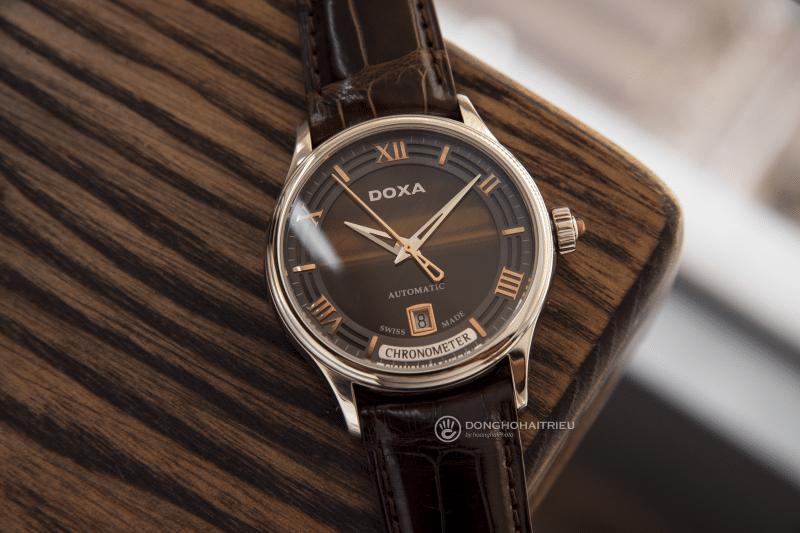 DoxaD198STE đạt được chức chỉ Chronometer danh giá của COSC, điều mà chỉ 3% đồng hồ Thụy Sĩ đạt được