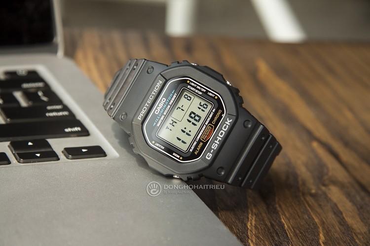 Đồng Hồ G-Shock DW-5600E-1VDF Tích Hợp Khả Năng Chống Shock hình1