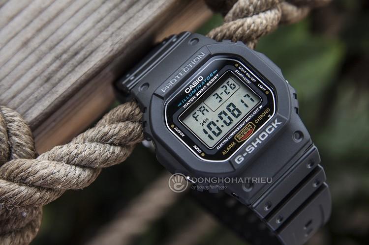 Đồng Hồ G-Shock DW-5600E-1VDF Tích Hợp Khả Năng Chống Shock h2