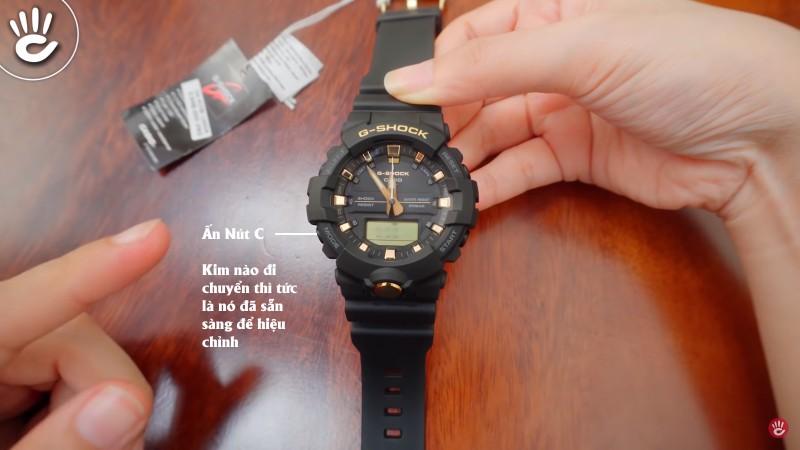 Hướng dẫn cách chỉnh giờ cho tất cả đồng hồ G-Shock kim
