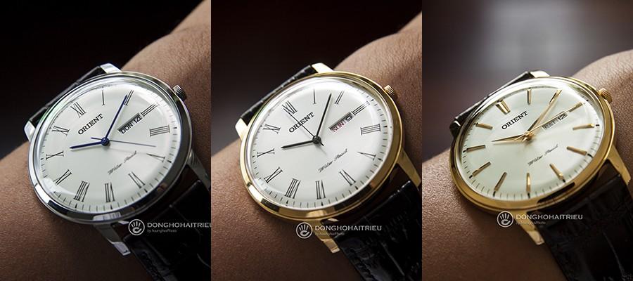 Trong mức giá dưới 4 triệu mà để tìm một mẫu đồng hồ kính vòm thiết kế đẹp như Orient Dress Watch là rất khó