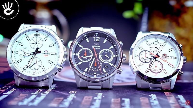 Top 3 đồng hồ Orient Chronograph dưới 6 triệu