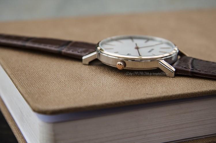 Đồng hồ Bulova 98H51 Thiết Kế 3 Kim Được Dát Mỏng Tinh Tế Hình 4