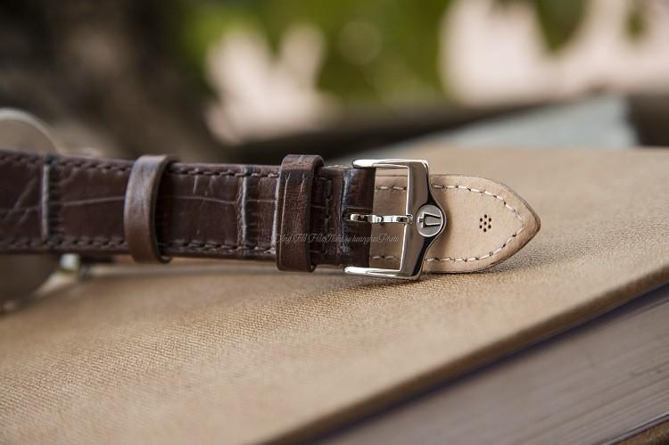 Đồng hồ Bulova 98H51 Thiết Kế 3 Kim Được Dát Mỏng Tinh Tế Hình 2