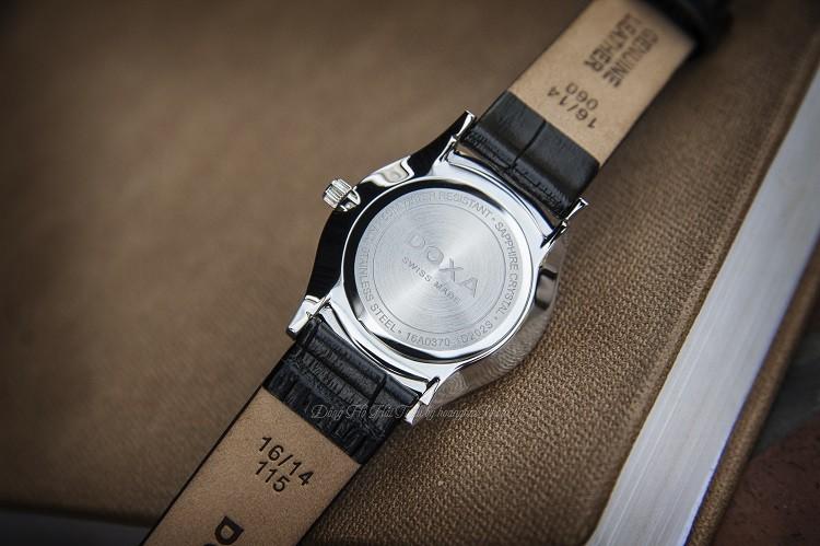 Đồng hồ Doxa D202SGY Cọc Số Phủ Ánh Vàng Hồng Hình 3