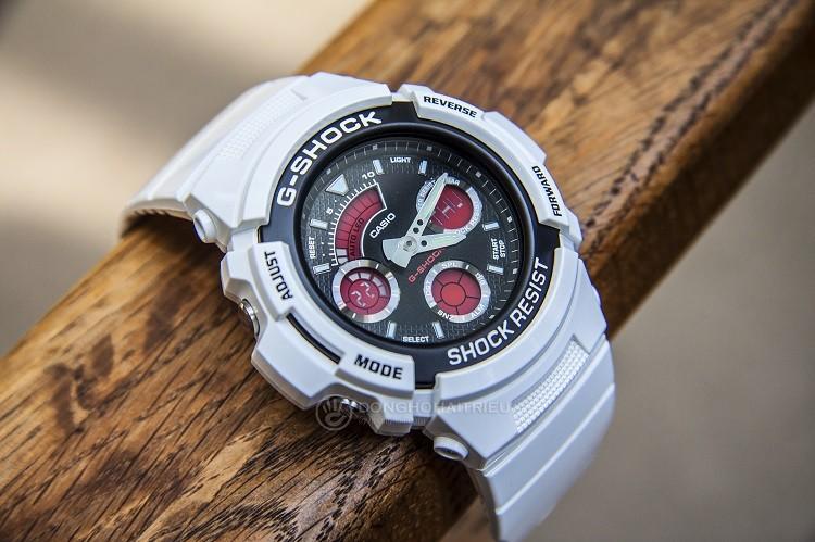 G-Shock AW-591SC-7ADR Chỉ Hơn 2 Triệu Cho Chiếc Đồng Hồ Đa Năng Hình 1