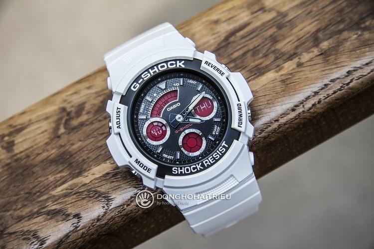 G-Shock AW-591SC-7ADR Chỉ Hơn 2 Triệu Cho Chiếc Đồng Hồ Đa Năng Hình 3