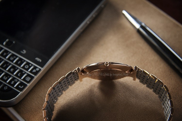 Longines L4.755.1.91.7 đồng hồ Thụy Sỹ sở hữu dây demi, kính Sapphire Hình 3