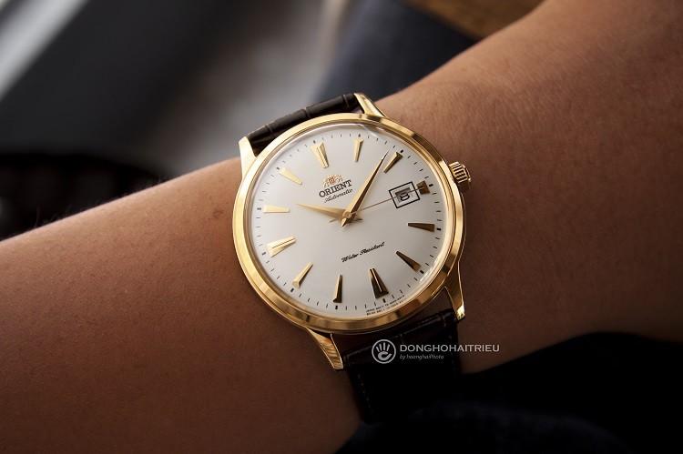 Review chi tiết Orient FAC00003W0 đồng hồ cơ giá bình dân hình 3