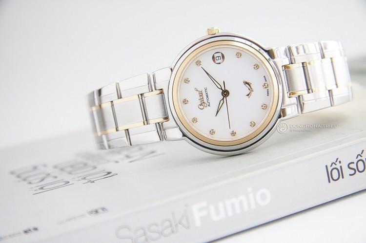 Review Ogival 5578AMSK Đồng hồ cơ đính kim cương sang trọng hình 3