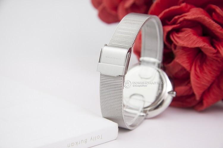 Skagen SKW2140 Đồng hồ nữ đính hạt đơn giản và cực kỳ sang trọng hình 2