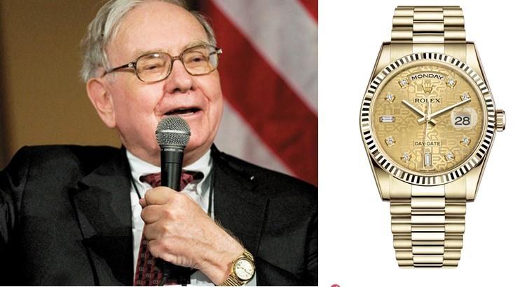H5- Tất cả tỷ phú trên thế giới họ mang đồng hồ đắt tiền nào?