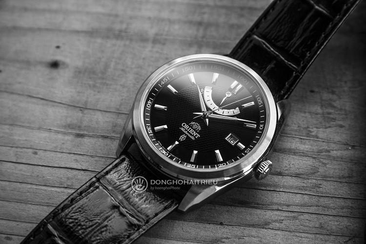 Orient FFD0F002B0 Đồng hồ cơ dây da mạnh mẽ và cực kỳ nam tính hình 1