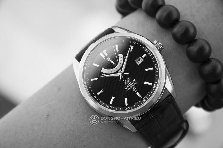 Orient FFD0F002B0 Đồng hồ cơ dây da mạnh mẽ và cực kỳ nam tính hình 4