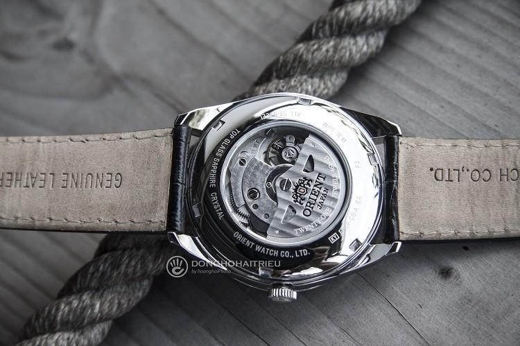 Orient FFD0F002B0 Đồng hồ cơ dây da mạnh mẽ và cực kỳ nam tính hình 5