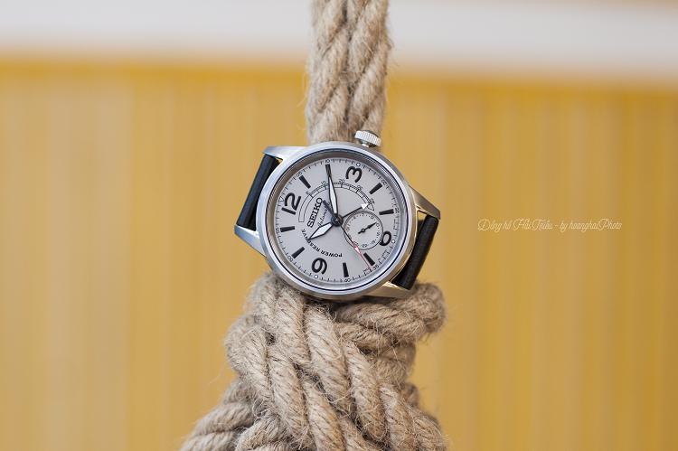 Vẻ lịch lãm ẩn trong những nét hoài cổ từ đồng hồ Seiko SSA337J1 hình 3