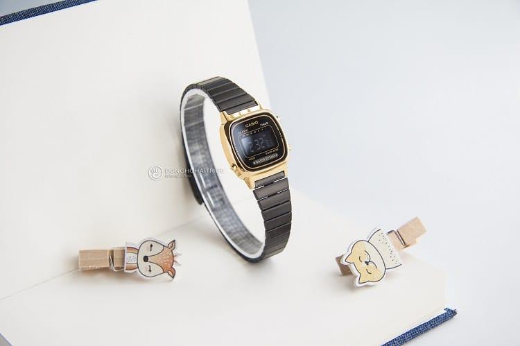 Đồng hồ Casio LA670WEGB-1BDF thanh mãnh dành cho phái nữ hình 2