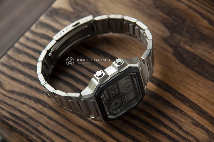 Đồng hồ điện tử Casio AE1200WHD-1AVDF đa chức năng, giá rẻ hình 2