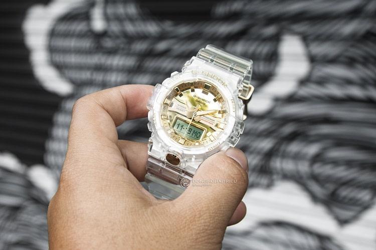GA-835E-7ADR Chiếc đồng hồ giới hạn từ bộ sưu tập Glacier Gold hình 1
