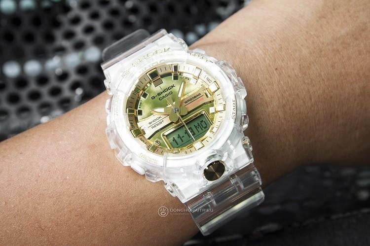 GA-835E-7ADR Chiếc đồng hồ giới hạn từ bộ sưu tập Glacier Gold hình 2