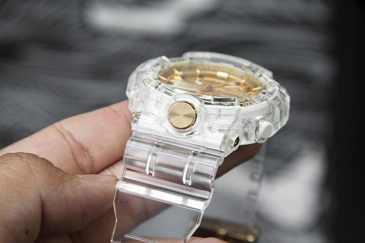 GA-835E-7ADR Chiếc đồng hồ giới hạn từ bộ sưu tập Glacier Gold hình 3