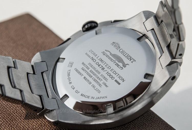 Review đồng hồ Orient STZ00002D0 | Bấm giờ 1/100s, phiên bản giới hạn-H8