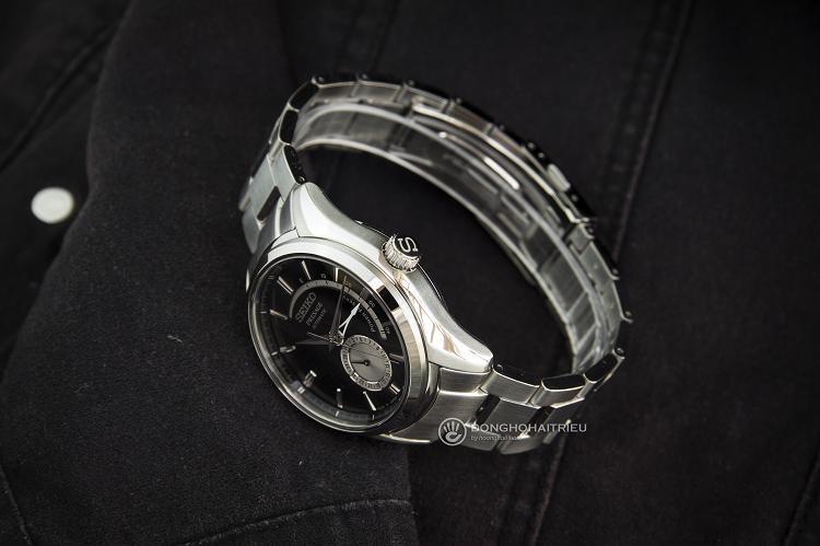 Đồng hồ cơ tự động Nhật Bản Seiko SSA35J1 trữ cót 40 giờ hình 3