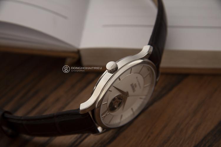 Tissot T063.907.16.039.00 Đồng hồ cơ lộ thiết kế Open Heart hình 2