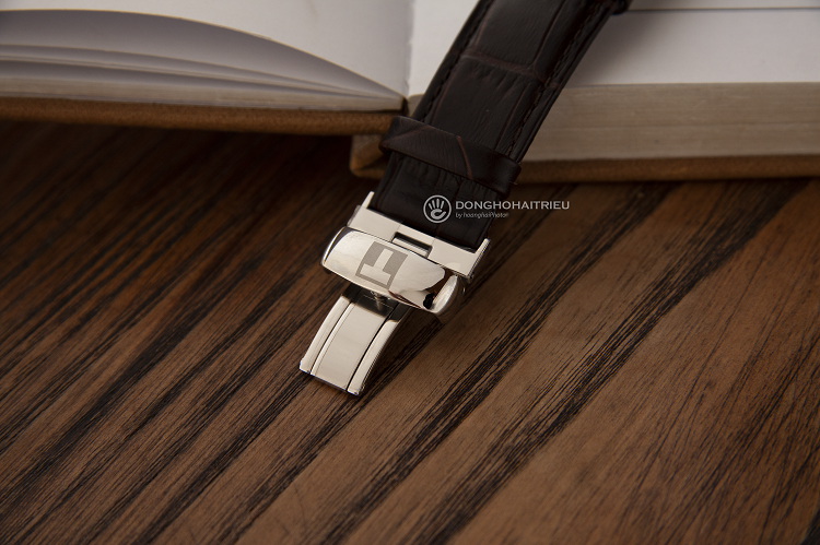 Tissot T063.907.16.039.00 Đồng hồ cơ lộ thiết kế Open Heart hình 4