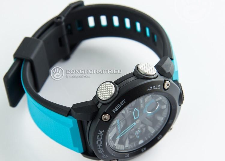 Trên tay G-Shock GA-2000 | Siêu phẩm với vỏ Carbon siêu nhẹ-Hình 2