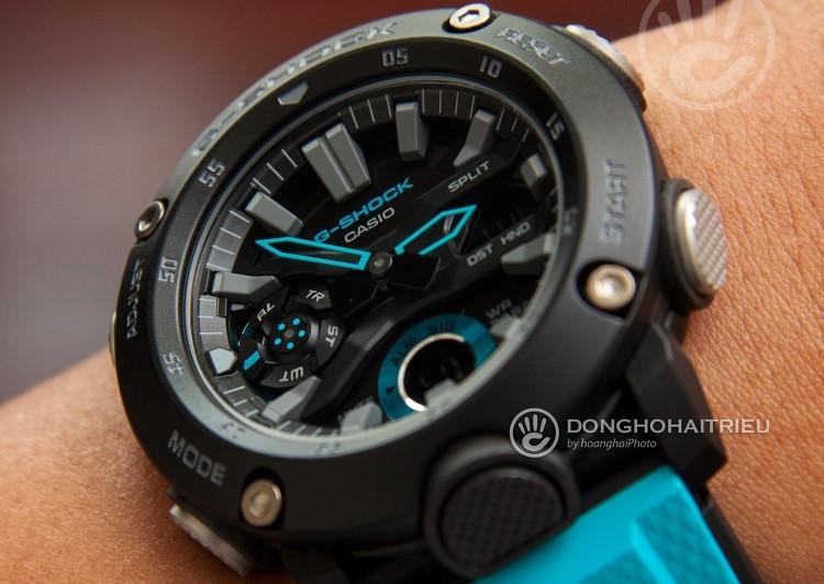 Trên tay G-Shock GA-2000 | Siêu phẩm với vỏ Carbon siêu nhẹ-Hình 5