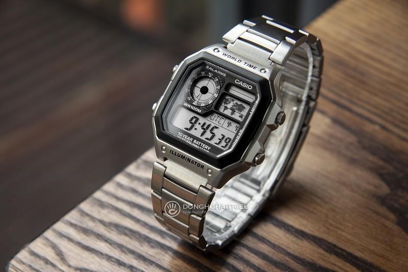 10 chiếc đồng hồ giá 5 triệu bán chạy của thương hiệu Casio - Hình Casio AE-1200WHD-1AVDF