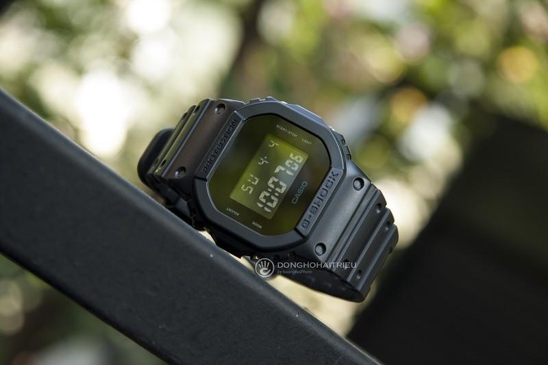 10 chiếc đồng hồ giá 5 triệu bán chạy của thương hiệu Casio - Hình DW-5600BB-1DR