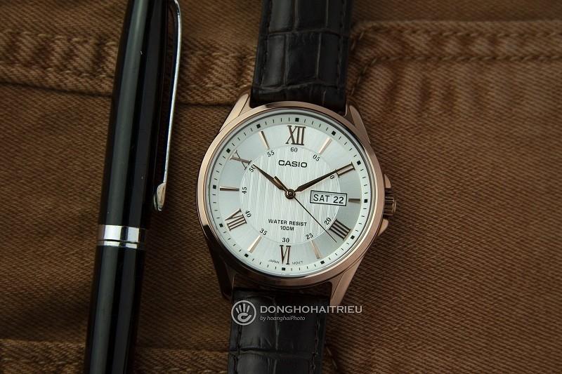 10 chiếc đồng hồ giá 5 triệu bán chạy của thương hiệu Casio - Hình Casio MTP-1384L-7AVDF