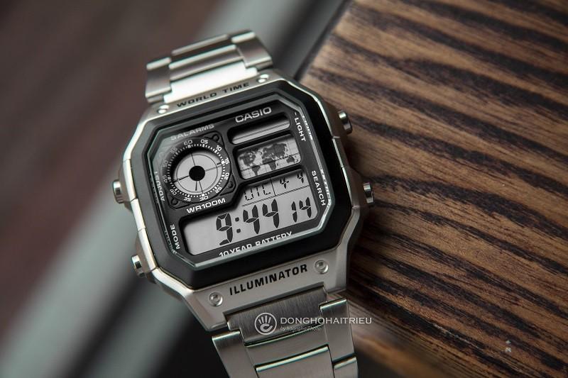 Mua đồng hồ giá 4 triệu Casio hay Orient, Citizen, Seiko? - Ảnh: CASIO AE-1200WHD-1AVDF