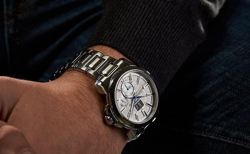 Đồng hồ Seiko Premier thiết kế chuẩn châu Âu, bộ máy Kinetic - Hình 4