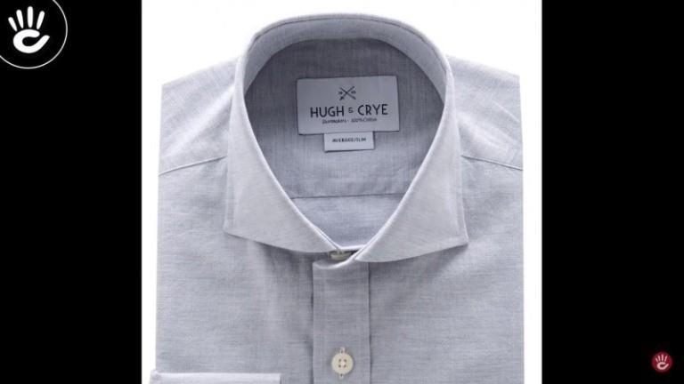 Những đường vân giản dị là điểm đặt trưng của hãng áo Hugh & Crye