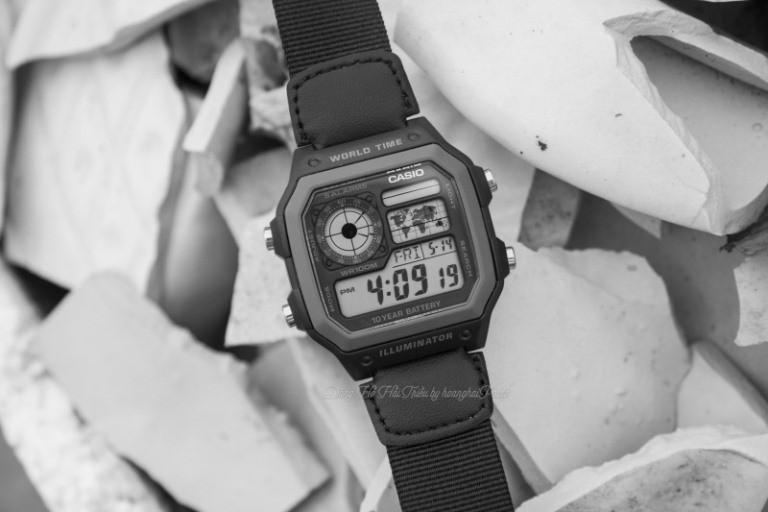 Đồng hồ casio ae1200whd và chức năng đếm ngược thời gian