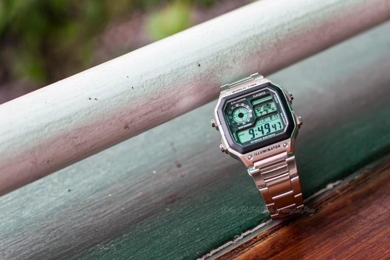Đồng hồ ae-1200whd cùng các chức năng cơ bản