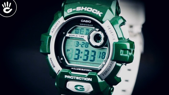 Đồng hồ G-Shock DW-9052-1VDR giá rẻ, thay pin miễn phí - Ảnh: 2