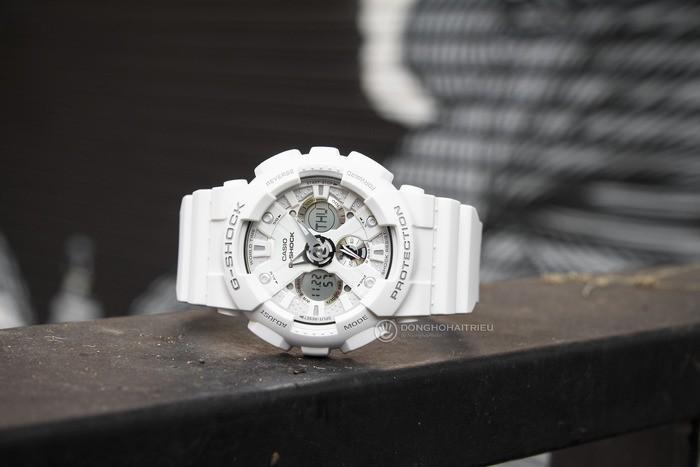 G-Shock GA-120A-7ADR Sự kết hợp hoàn hảo giữa kim, đồng hồ điện tử - Ảnh: 1