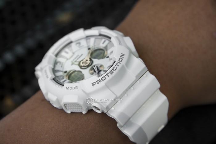 G-Shock GA-120A-7ADR Sự kết hợp hoàn hảo giữa kim, đồng hồ điện tử - Ảnh: 3