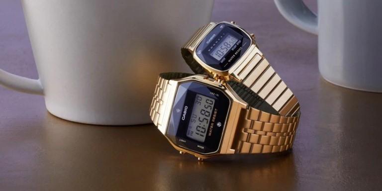 Làm thế nào để chỉnh tín hiệu giờ đối với đồng hồ Casio kim cương
