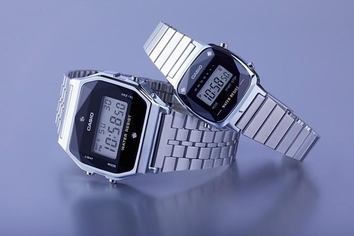 Làm sao để bật chế độ báo thức đối với đồng hồ Casio Vintage Kim cương