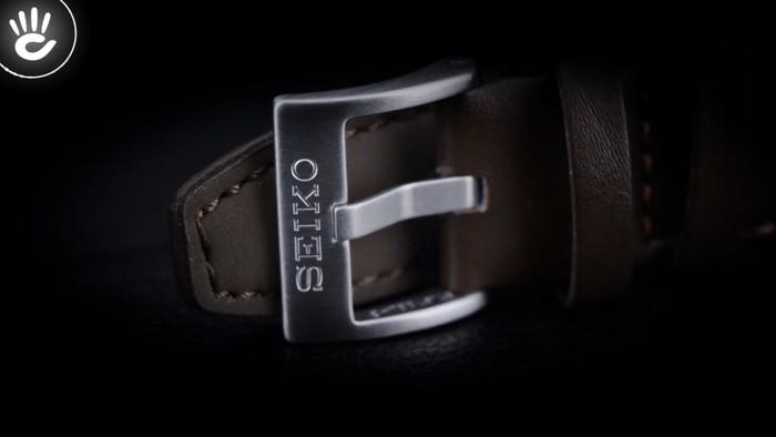 Đồng hồ Seiko SRPB65J1 Đầy thời trang nhờ có mặt số màu xanh lạ mắt - Ảnh 3