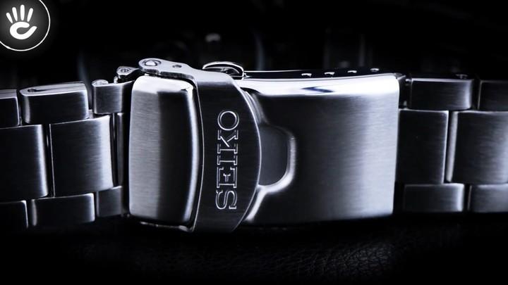 Đồng hồ Seiko SRPC57K1 Thiết kế độc đáo với viền ngoài màu đỏ và đen - Ảnh: 3