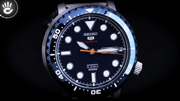 Mạnh mẽ với vỏ viền ngoài dày dặn từ đồng hồ Seiko SRPC63K1 - Ảnh 2