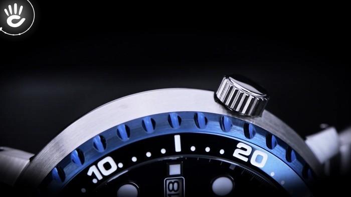 Mạnh mẽ với vỏ viền ngoài dày dặn từ đồng hồ Seiko SRPC63K1 - Ảnh 4
